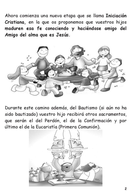 Carta Catequesis 2